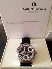 Maurice Lacroix Masterpiece Retrograde -Stahl