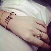 серебряный комплект Cartier «Гвоздь»